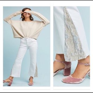 Anthropologie Pilcro High-Rise Flared Jeans